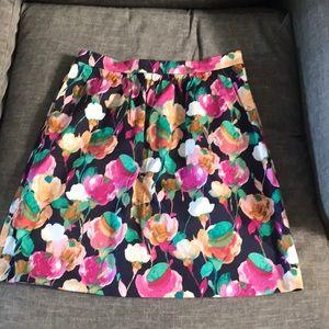 NWY J. Crew Floral Skirt